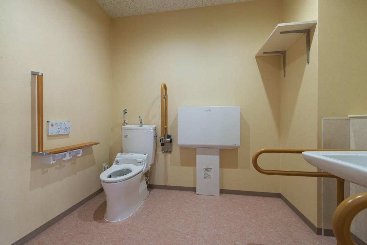 来客トイレ